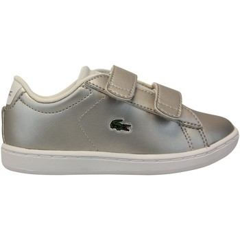 Chaussures Baskets mode Lacoste Carnaby Evo 317 Argent
