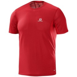 Vêtements Homme T-shirts manches courtes Salomon Trial Runner SS Tee Rouge