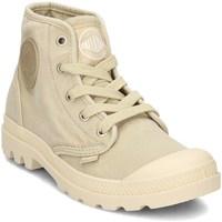 Chaussures Femme Baskets montantes Palladium Manufacture Pampa HI Jaune
