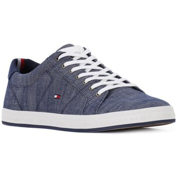 Tommy Hilfiger 403 Essential Gris - Chaussures Baskets basses Homme