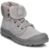 Chaussures Femme Baskets montantes Palladium Pallabrouse Baggy Gris