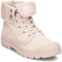 Chaussures Femme Baskets montantes Palladium Pallabrouse Baggy Rose