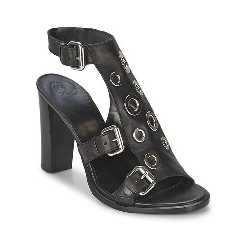 Chaussures Femme Sandales et Nu-pieds McQ Alexander McQueen NICO Noir