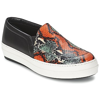 Chaussures Femme Slips on McQ Alexander McQueen DAZE Noir / Multicolore