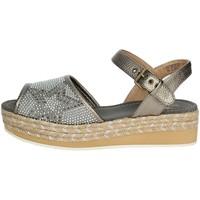 Chaussures Femme Espadrilles Shaka SL181511 W0004 Sandale Femme Argent Argent