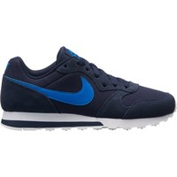 Chaussures Enfant Baskets basses Nike Boys'  MD Runner 2 (GS) Shoe 807316 AZUL