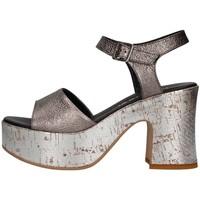 Chaussures Femme Sandales et Nu-pieds Martina B Mbss18-226-mu Sandale Femme Gunmetal Gunmetal