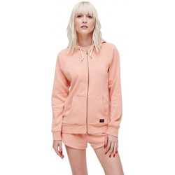 Vêtements Femme Sweats Obey Sweat  Comfy Zip Hood - Muted Clay Or