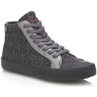 Chaussures Fille Baskets montantes Guess Baskets Montantes Fille Lory Noir Noir
