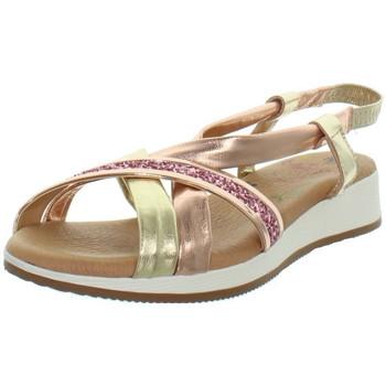 Chaussures Femme Sandales et Nu-pieds Marila Sandales  en cuir ref_neox43578-rose Rose