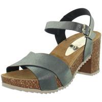 Chaussures Femme Sandales et Nu-pieds Marila Sandales  en cuir ref_neox43590-noir Noir