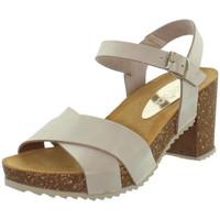 Chaussures Femme Sandales et Nu-pieds Marila Sandales  en cuir ref_neox43589-taupe Beige