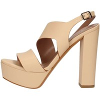 Chaussures Femme Sandales et Nu-pieds Albano 2468 Sandales Femme Platine Platine