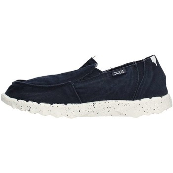 Chaussures Homme Baskets basses Hey Dude FARTY WASHED Sneaker Homme Bleu Bleu