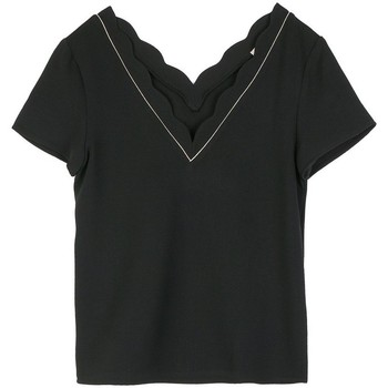 Vêtements Femme Tops / Blouses Cherry Paris Top Indiana Noir
