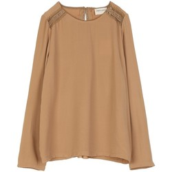 Vêtements Femme Tops / Blouses Cherry Paris Blouse Towan Marron clair