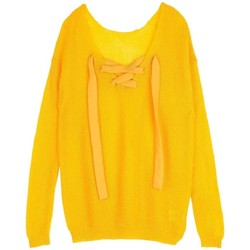Vêtements Femme Pulls Cherry Paris Pull Tara Jaune