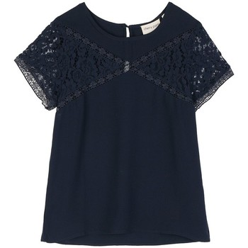 Vêtements Femme Tops / Blouses Cherry Paris Top Rosebery Bleu marine