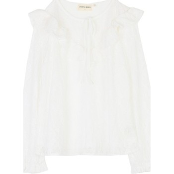 Vêtements Femme Tops / Blouses Cherry Paris Blouse Glen Alice Ecru