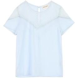 Vêtements Femme Tops / Blouses Cherry Paris Top Nala Bleu