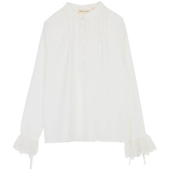 Vêtements Femme Tops / Blouses Cherry Paris Blouse Windy Ecru