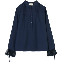 Vêtements Femme Tops / Blouses Cherry Paris Blouse Windy Bleu marine