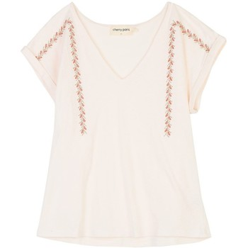 Vêtements Femme Tops / Blouses Cherry Paris Top Mentana Ecru