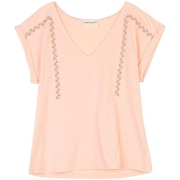 Vêtements Femme Tops / Blouses Cherry Paris Top Mentana Rose