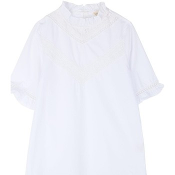 Vêtements Femme Tops / Blouses Cherry Paris Top Alvie Blanc