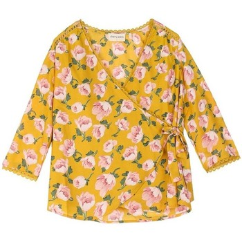 Vêtements Femme Tops / Blouses Cherry Paris Top Geera Jaune