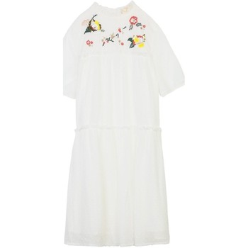Vêtements Femme Robes courtes Cherry Paris Robe Belrose Ecru