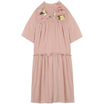 Vêtements Femme Robes courtes Cherry Paris Robe Belrose Rose