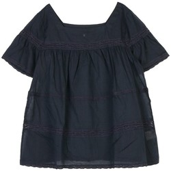 Vêtements Femme Tops / Blouses Cherry Paris Top Noe Bleu marine