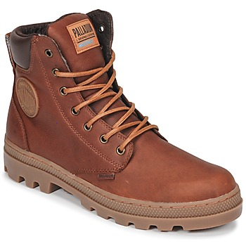 Chaussures Homme Boots Palladium PALLABOSSE SC WP Marron