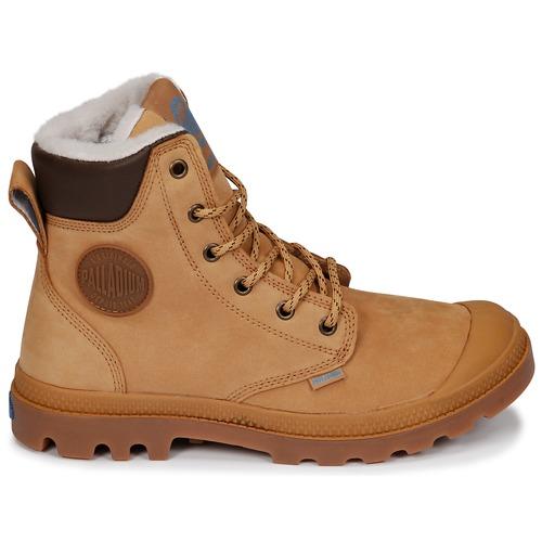 Cuff Sport Pampa Palladium JauneMarron Wps Boots SpqzMUV