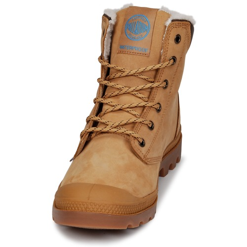 Cuff Palladium Pampa Wps Boots JauneMarron Sport OPZukiTX