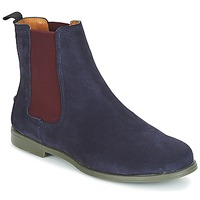Chaussures Femme Boots Sebago CHELSEA DONNA SUEDE Marine