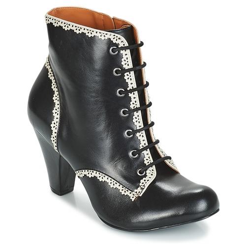 Noir Chaussures Cristofoli Femme Bottines Karana lcJTFK3u15