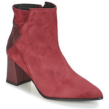 Chaussures Femme Bottines Elizabeth Stuart DHEXTER Bordeaux