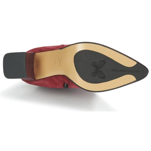 Dhexter Femme Elizabeth Chaussures Stuart Bordeaux Bottines 4AjL53R