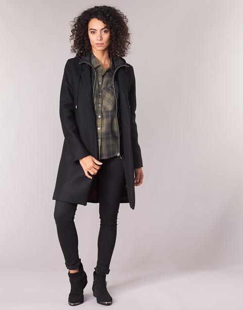 Vêtements Femme Manteaux Ikks AFTER Noir
