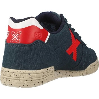 Chaussures Enfant Baskets basses Munich Fashion G 3 KID CANVAS Blue