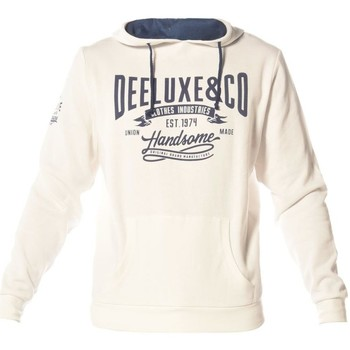 Vêtements Homme Sweats Deeluxe Sweat à capuche Holdher blanccasse