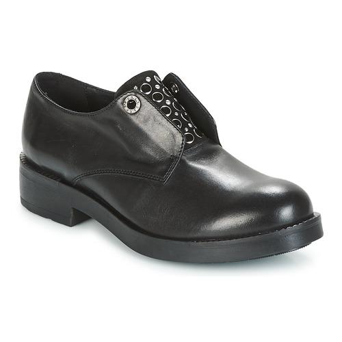 Chaussures Femme Derbies Tosca Blu FRASER Noir