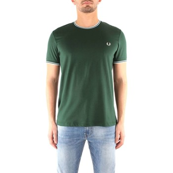 Vêtements Homme T-shirts manches courtes Fred Perry M1588 T-shirt Homme IVY IVY