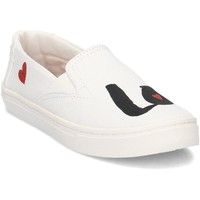 Chaussures Enfant Slips on Toms 10011482 Blanc