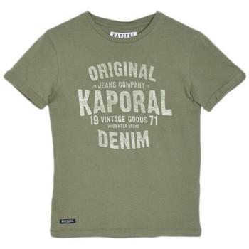 Vêtements Garçon T-shirts & Polos Kaporal T-Shirt Garçon Missa Kaki Vert