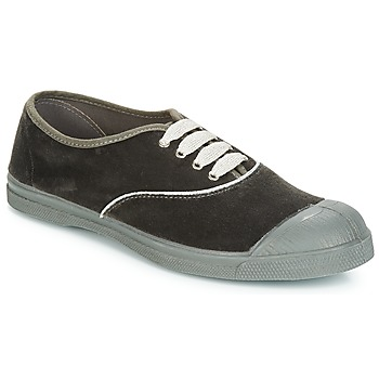 Chaussures Femme Baskets basses Bensimon TENNIS VELVET PIPING Gris