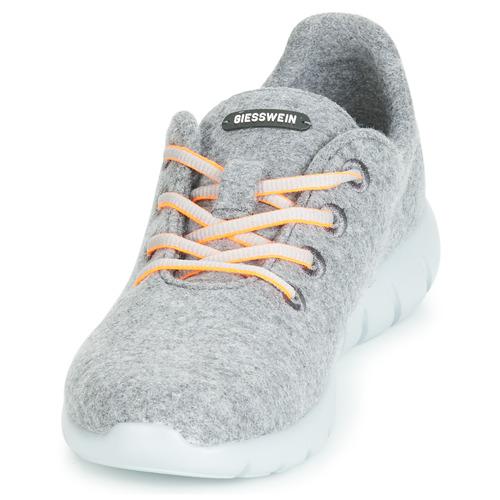 Merino Runners Femme Gris Basses Baskets Giesswein b76mfIYgyv