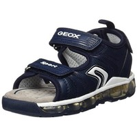 Chaussures Fille Sandales et Nu-pieds Geox Sandales J S. Android B.B Navy Multicolor